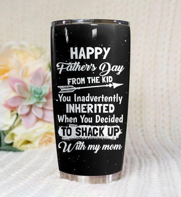 Happy Father's Day from the kid Stainless Steel Tumbler Cups