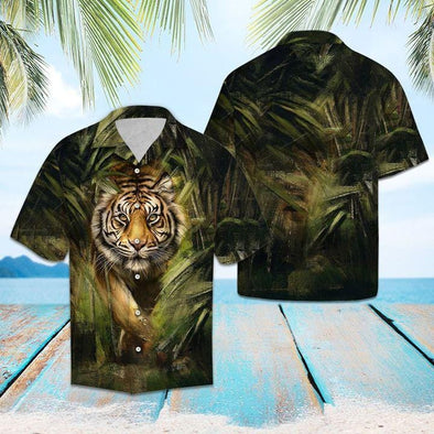 Strong Tiger Hawaii Shirts #1508H