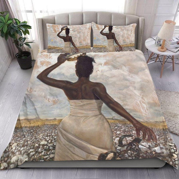 Strong African Women Custom Name Duvet Cover Bedding Set