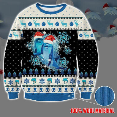 Dolphins Christmas Sweater