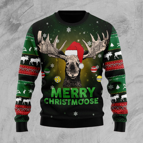 Christmas Merry Christmoose Sweater #812H