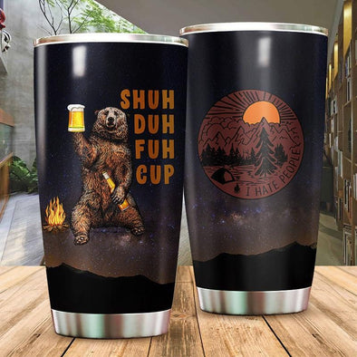 Shuh Duh Fuh Cup Stainless Steel Tumbler Cups #1101h