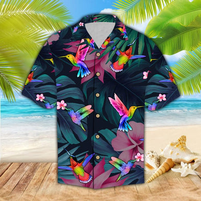 Hawaiian Aloha Shirts Hummingbird #2809H