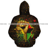 African Power Custom Hoodie 3D with Your Name #2206V