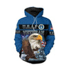 U.S. Air Force Arrmy Hoodie 3D All Over Print Custom Name #V