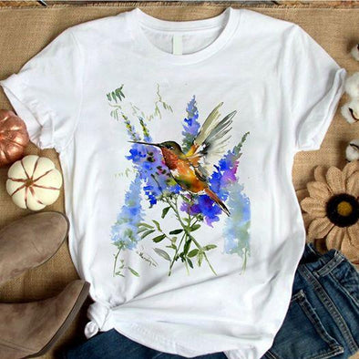 Humming Bird custom name Shirt #V