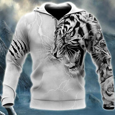 Honor Tiger Hoodie 3D All over print