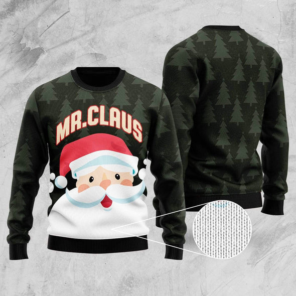 Mr And Mrs Claus Couple Christmas Sweater