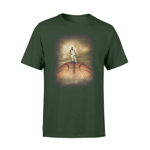 Dreamship Apparel S / Forest Custom Basketball T-Shirt