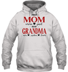GearLaunch Apparel Unisex Heavyweight Pullover Hoodie / Ash Grey / S First mom now grandma Mother's day Custom T-shirt with name #0905H