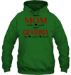 GearLaunch Apparel Unisex Heavyweight Pullover Hoodie / Irish Green / S First mom now grandma Mother's day Custom T-shirt with name #0905H