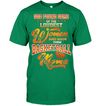 GearLaunch Apparel Unisex Short Sleeve Classic Tee / Kelly Green / S Basketball Custom T Shirt God Found Some Of The Loudest Women