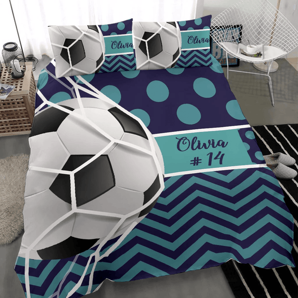 Sportyzen bedding Custom Soccer Bedding Set #291019H
