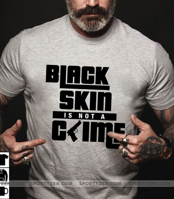 Black skin is not a grime T-shirt