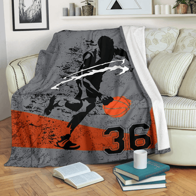 CN blanket Custom Basketball Duvet & Pillow covers Personalized Blanket Name & Number.