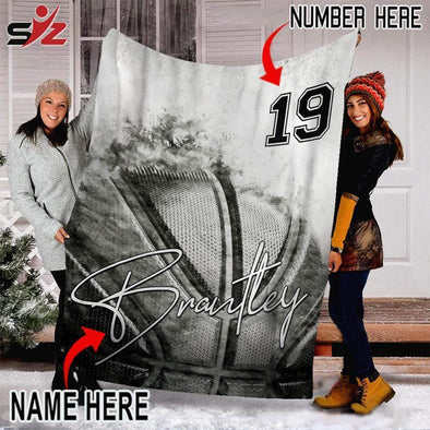 CN blanket Custom Blanket Basketball Ball Vintage #261119V