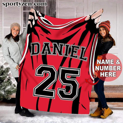 CN blanket Custom blanket Basketball Shirt #311219v
