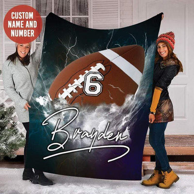 CN blanket Custom blanket Football Thunder #171219H