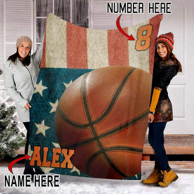 CN blanket Custom Blankets Basketball #261119V