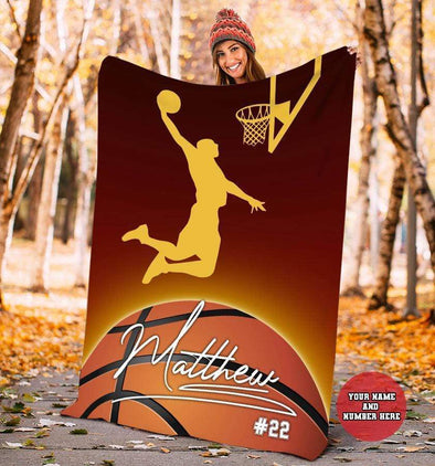 CN blanket Custom Blankets Basketball - G&O  #101219L