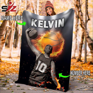 CN blanket Custom Blankets Basketball Player #111119V