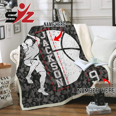 CN blanket Custom Blankets Basketball Player  #300919V