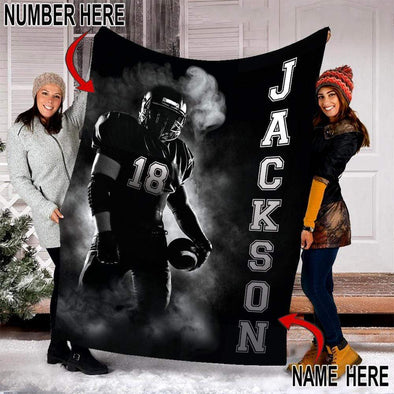 CN blanket Custom Blankets Football Player #101219V