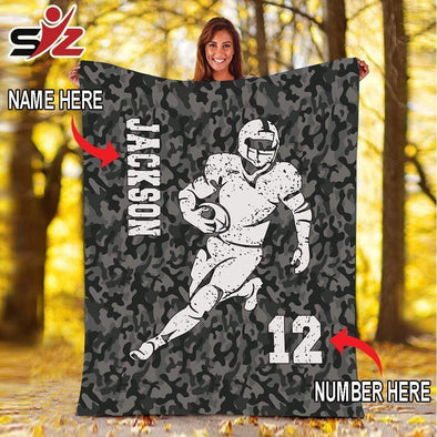 CN blanket Custom Blankets Football Player  #280919V