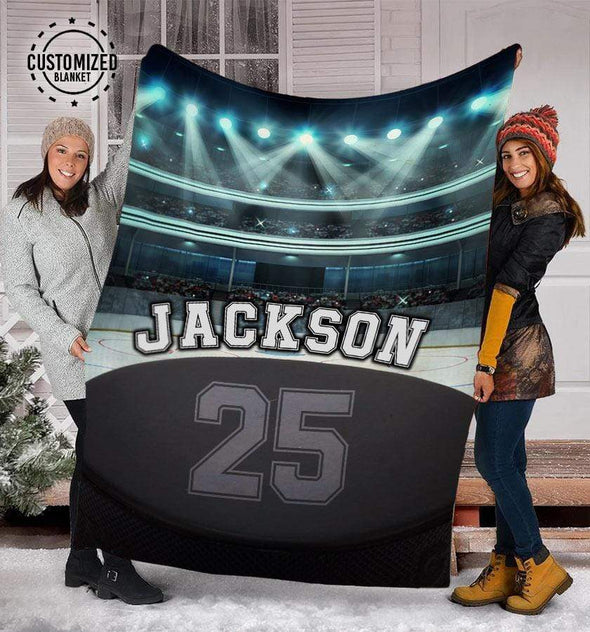 CN blanket Custom Blankets Hockey Glory Stadium #281119L