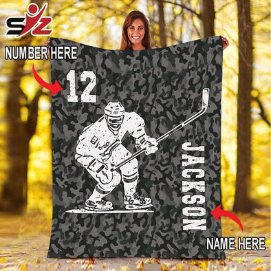 CN blanket Custom Blankets Hockey Player  #280919V
