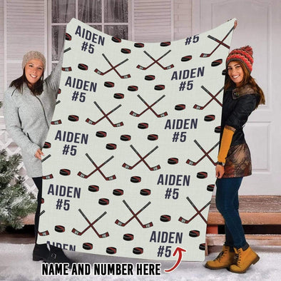 CN blanket Custom Blankets Hockey Stick  #151019H