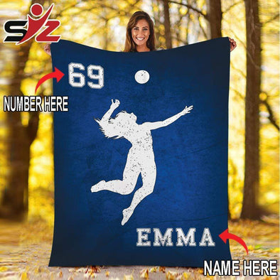 CN blanket Custom Blankets Volleyball Color  #091019V