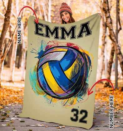 CN blanket Custom Blankets Volleyball - Graffiti  #131219L