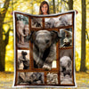 CN blanket Elephant Baby Cute fleece blanket #0905