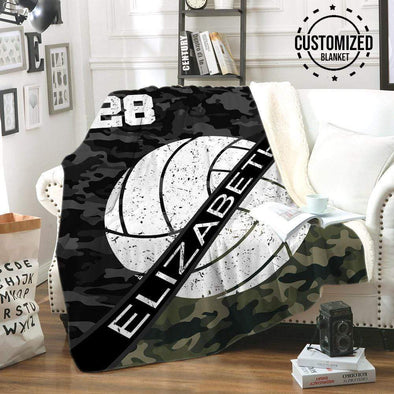 CN blanket Volleyball Ball Custom Blankets #CN041119L
