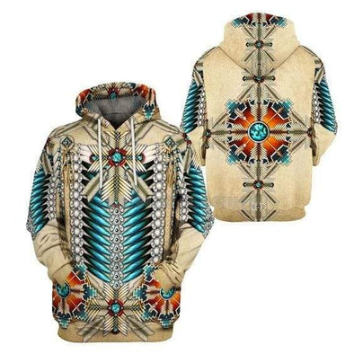 Native American In Style Hoodie 3D All Over Print #2310L