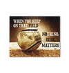 GearLaunch Canvas Prints Baseball Custom Canvas prints Nothing else matters