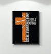 GearLaunch Canvas Prints Basketball Custom Canvas prints Christ