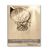 GearLaunch Canvas Prints Basketball Custom Canvas prints I can do all things