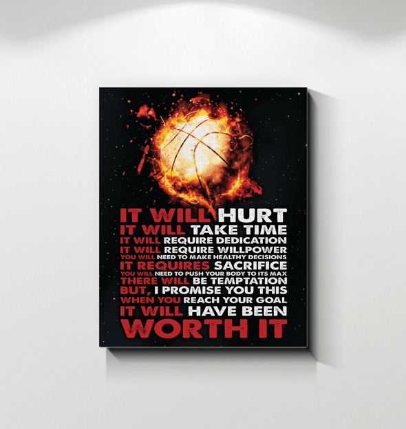 GearLaunch Canvas Prints Basketball Custom Canvas prints It will have been worth it