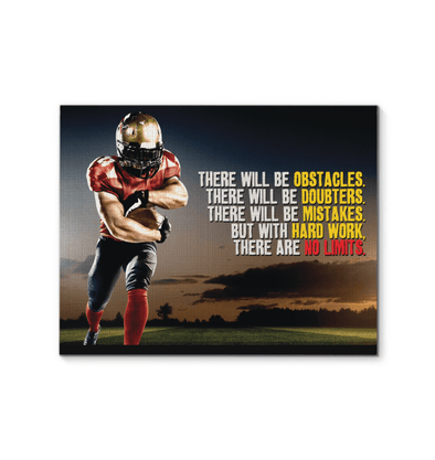 GearLaunch Canvas Prints Football Custom Canvas prints There is no limits