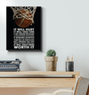 GearLaunch Canvas Prints Wrapped Canvas 16x20 / White Basketball Custom Canvas prints WORTH IT