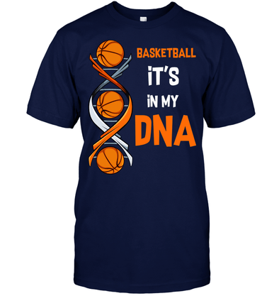 Basketball It's in my DNA T-shirt