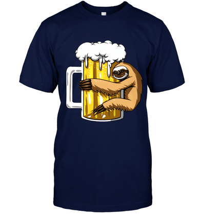 Sloth And Beer T-shirt