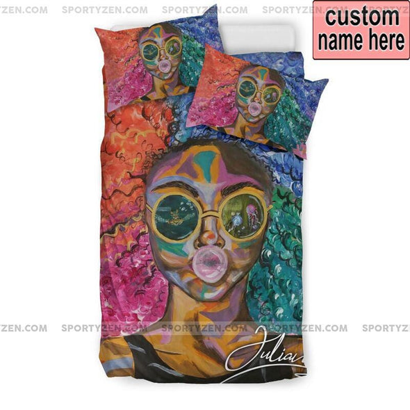 Cool African Custom Duvet Cover Bedding Set With Name #1405V