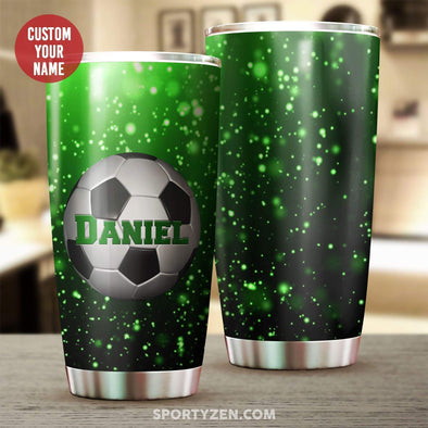 zpod Personalized Soccer Tumbler 20z Double-walled Stainless Stell #1403l