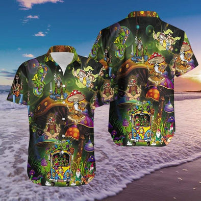 Amazing colorful Hippie Hawaiian Aloha Shirts #DH