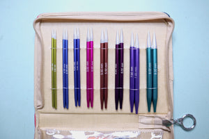 KnitPro Zing Interchangeable Deluxe Set