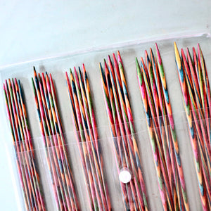 Knit Pro Symfonie Wood Double Pointed Knitting Needle Set 20cm