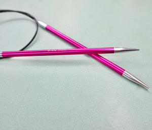Knit Pro Zing Fixed Circular Knitting Needles